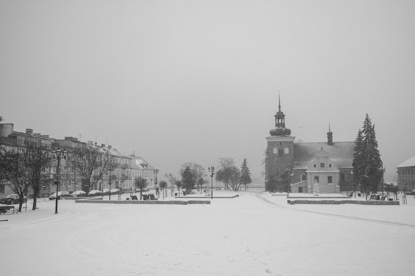 Zimowy Włocławek