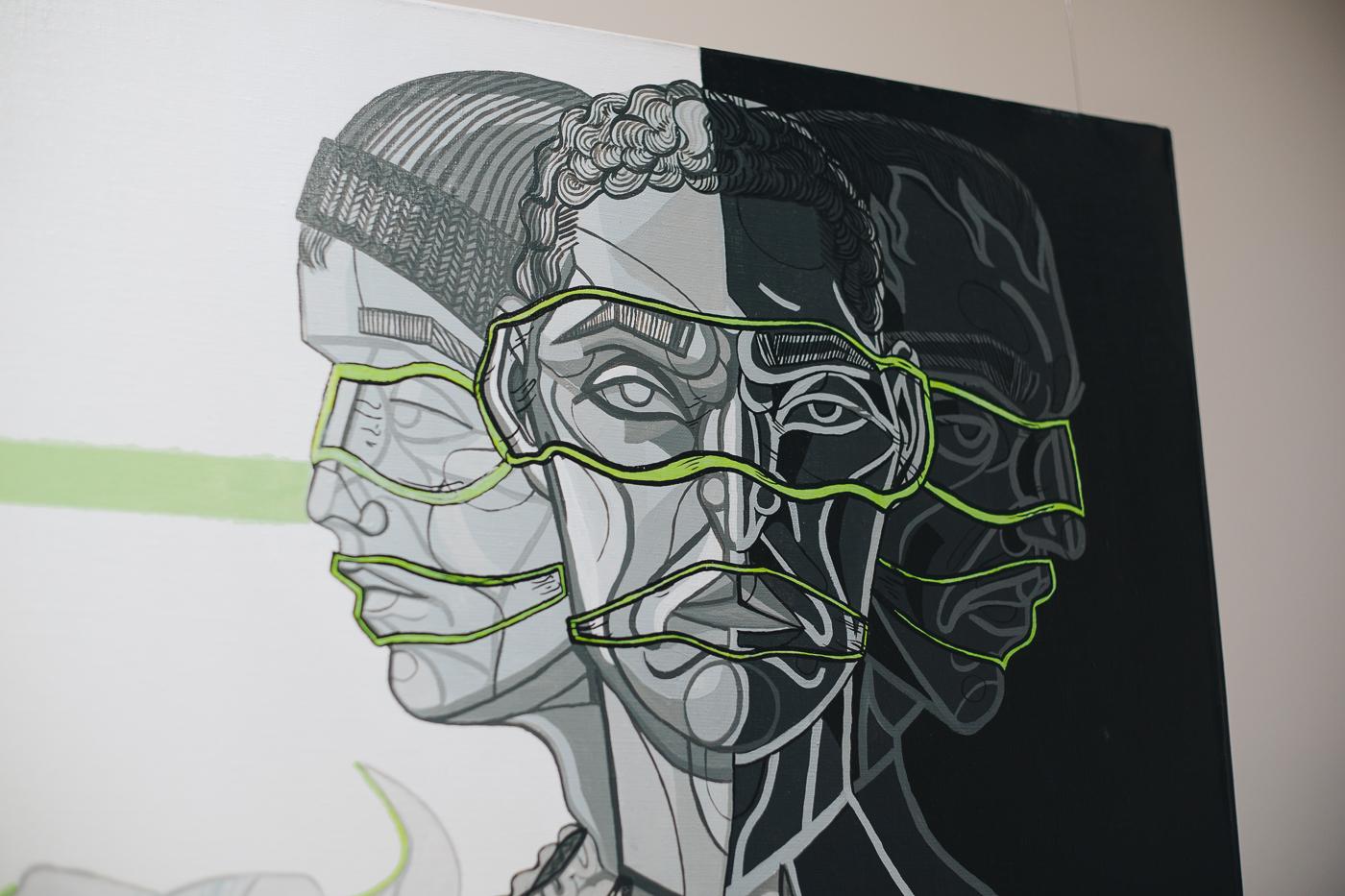 """""""Fosforescencje"""" wystawa w GSW"""
